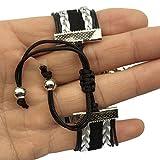 DOLON Braided Adjustable Blessed Be Bracelet Pagan