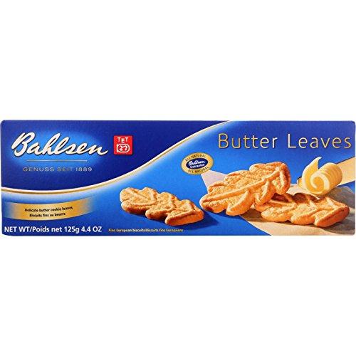 Bahlsen Butter (Bahlsen Cookies - Butter Leaves - 4.4 oz - case of 12 - - - - - -)
