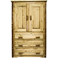 Montana Woodworks MWGCARN Glacier Country Collection Armoire