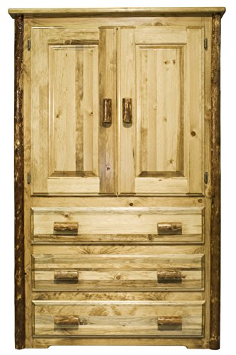 Montana Woodworks MWGCARN Glacier Country Collection Armoire Review