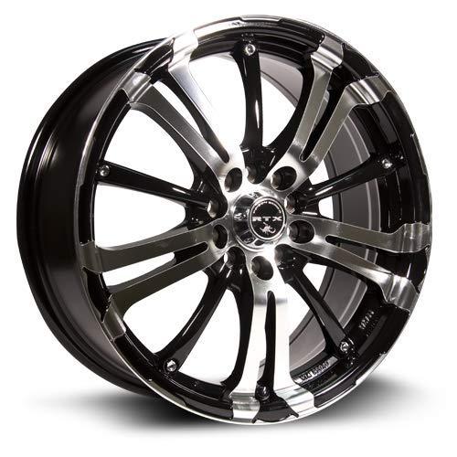 Town Car Alloy Rim Wheel - RTX, Alloy Wheel/Rim, ARSENIC, New, Black Machined, 17x7, 4x105, 42, 73.1, 493202