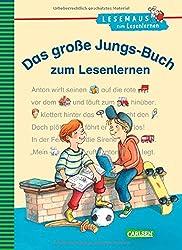 LESEMAUS zum Lesenlernen Sammelbände: Das große Jungs-Buch zum Lesenlernen