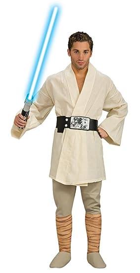 M C S Disfraz de Star Wars Luke Skywalker para Hombre: Amazon.es ...