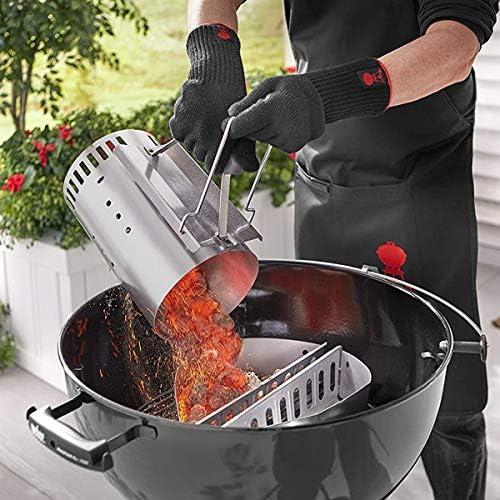 YDYG Cheminée de démarrage, Barbecue Charbon Allume-feu Bucket, allumage Rapide Briquet Barrel, Poêle en Acier Inoxydable, Outils d'accessoires de Cuisine en Plein air
