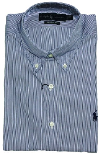 Polo Ralph Lauren Classic-Fit Poplin Stripes