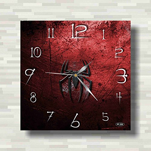 2099 Costume Amazing Man Spider The (Spiderman 11.8'' Handmade Wall Clock - Get unique décor for home or office – Best gift ideas for kids, friends, parents and your soul)