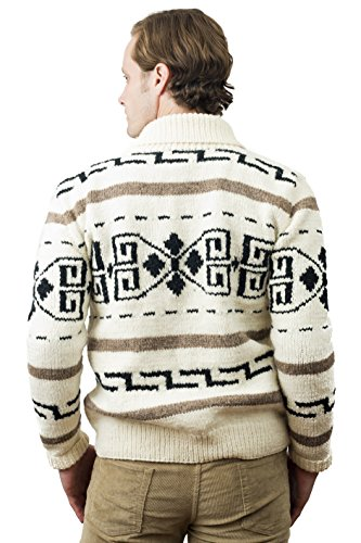 Big Lebowski Jeffrey The Dude Sweater Men s Large Movie Replica Cardigan  Costume 9ab0cace1