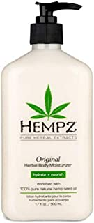 product image for Original, Natural Hemp Seed Oil Body Moisturizer with Shea Butter and Ginseng, 17 Fl Oz
