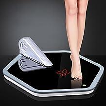 Bazaar Dual-purpose Hexagon Height Weight Digital LCD Bath Weighing Scale Hexagon Body Scale