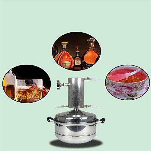DIY 2/3/5 Gallon 8/12/20 L Home Distiller Moonshine Still Water Essential Oil Boiler Spirits Alcohol Wiskey Wine Making Thumper Keg Brew Kit