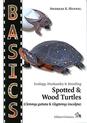 BASICS - Ecology, Husbandry & Breeding Spotted & Wood Turtles (Clemmys guttata & Glyptemys insculpta) - Guide Book