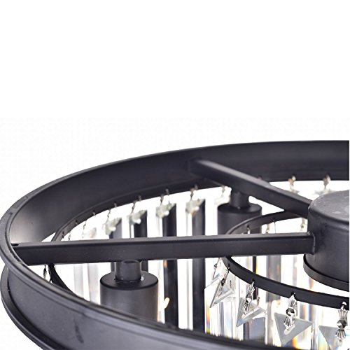 Lumos 12 Lights Luxury Modern Crystal Chandelier Pendant Ceiling Light for Dining Room, Living Room … (12 Lights) by Zgear (Image #5)