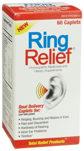 Médicaments homéopathiques Soulagement anneau et compléments alimentaires, 60-Count Caplets