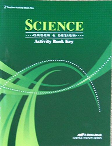 A Beka Science Order and Design Grade 7 CURRENT COMPLETE Student and Teacher Set +FR