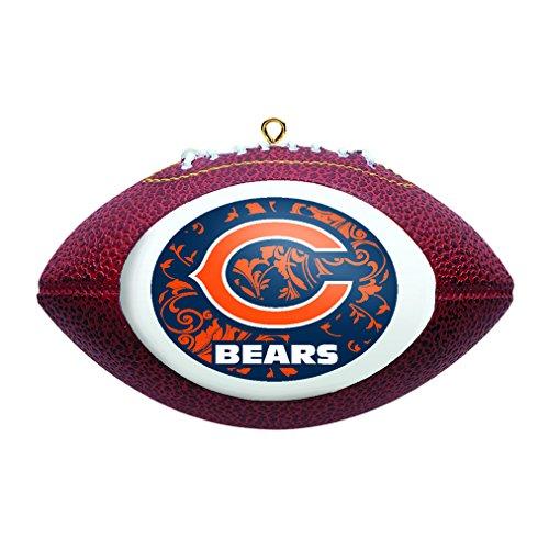 NFL Chicago Bears Replica Football (Hanging Bear Ornament)