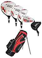 Nitro Golf- Blaster 15 Piece Complete Set with Bag Graphite/Steel