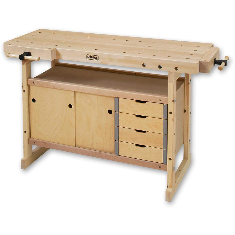 Brown Vigor 4894510/Wooden Work Bench