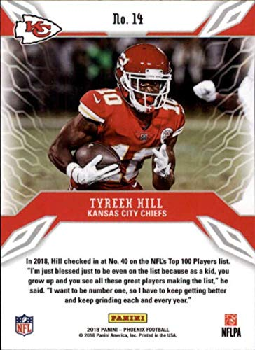 Amazon.com  2018 Panini Phoenix Adrenaline Rush Color Burst  14 Tyreek Hill  Kansas City Chiefs NFL Football Trading Card  Collectibles   Fine Art e4fb3ce80
