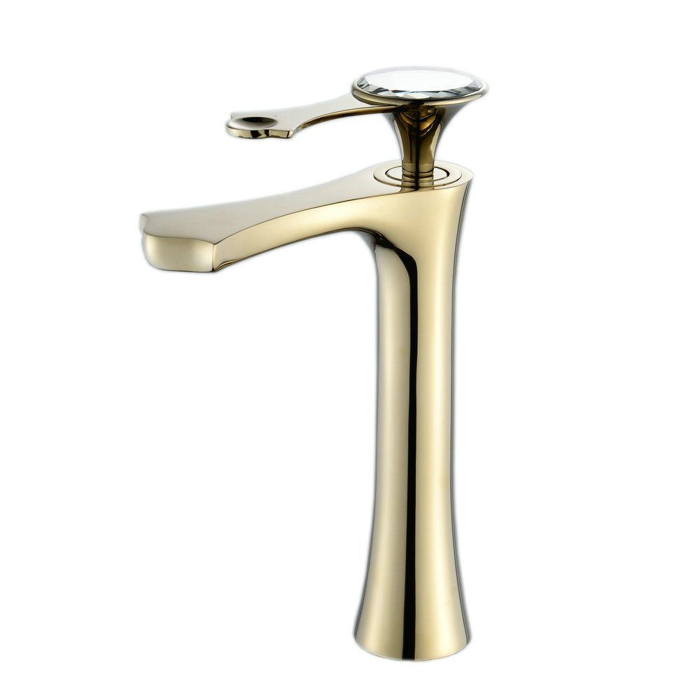 SADASD Contemporary Bathroom Full Copper Basin Faucet White Enamel Basin Sink Mixer Tap Ceramic Spool Single Hole Single Handle Cold Water With G1 2 Hose