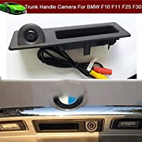 2 in 1 Car Trunk Handle + CCD Rear View Backup Reverse Parking Camera For BMW X5 F15 2010 2011 2012 2013 2014 2015 2016 2017