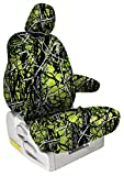 zombie seat covers for trucks - Shear Comfort Custom Moon Shine Seat Covers for Hino Hino Trucks (2012-2017) REAR SEAT: Toxic Camo for Bench w/Adjustable Headrests (195 Crew Cab) (Headrest Covers Not Available)