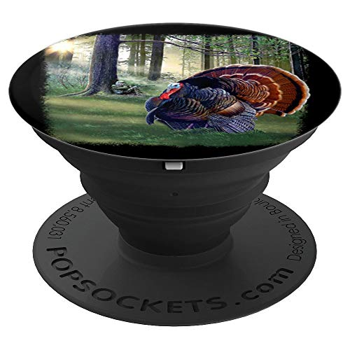 Art Design Turkey Hunting Gift Big Turkey Image - PopSockets Grip and Stand for Phones and Tablets