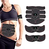 Dioche Abdominal Muscle Toner, Flexible AB Workout Stimulator, Exercise Fitness Abdominal Muscle Training Gear for Body Building