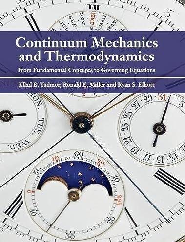 continuum mechanics and thermodynamics from fundamental concepts to rh amazon com