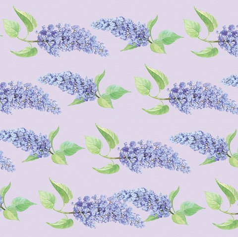 English Lilac Scented Drawer Liners by Best British Gifts with