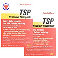 Savogran 10621 Trisodium Phosphate (TSP) 1LB (16oz) - 2 Pack