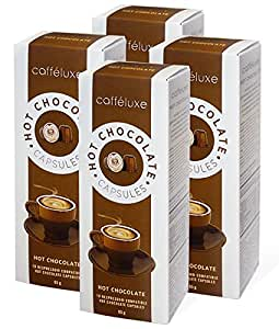 nespresso compatible capsules hot chocolate 40 count grocery gourmet food. Black Bedroom Furniture Sets. Home Design Ideas