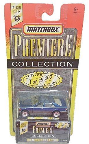 Series Mercedes 600 - Matchbox Mercedes 600 SL World Class Series 5 Blue Premiere Collection