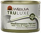 Weruva's TruLuxe Cat Food, Mediterranean Harvest with Tuna Whole Meat & Veggies in Gravy, 6oz (Pack of 24)