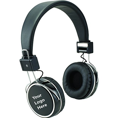 Midas Bluetooth Headphones with Touch Screen - 10 Quantity - $46.00 Each - PROMOTIONAL PRODUCT / BULK / BRANDED with YOUR LOGO / CUSTOMIZED by Sunrise Identity