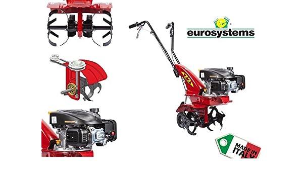 Motoazada/Tractor/motocultor 3,0hp eurosystem - OHV 123: Amazon.es ...