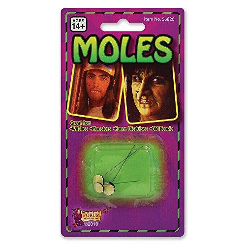 Bristol Novelty SM015 Moles, One Size -