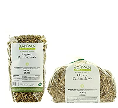Banyan Botanicals Dashamula Whole - Certified Organic, - A traditional Ayurvedic formula for pacifying vata and supporting proper function of the nervous system*