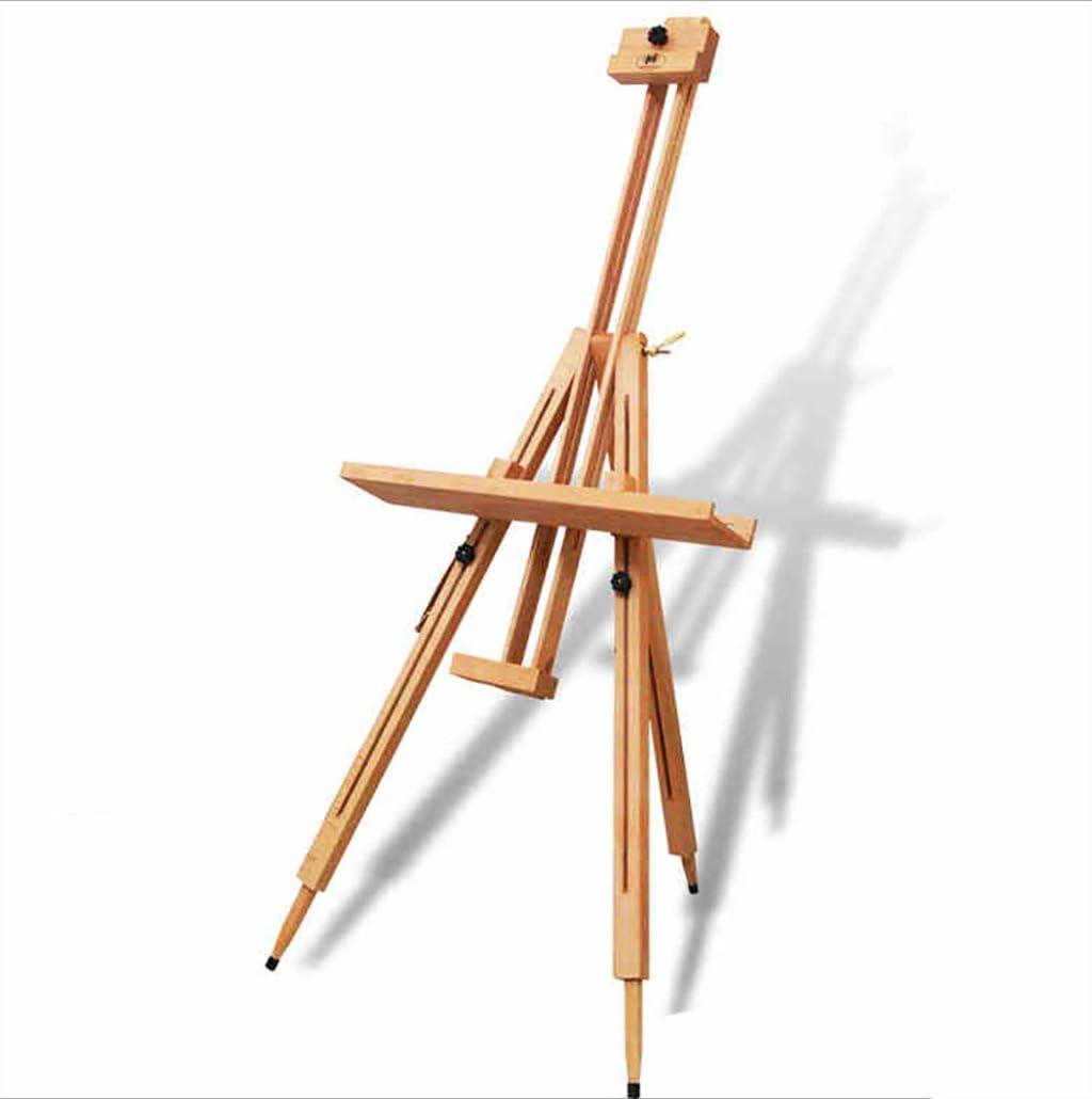 SEESEE.U Chevalet en Bois Massif 8k H/être Table Pliante Dessin Titulaire De Bureau Croquis Chevalet Studio Peinture /Étag/ère
