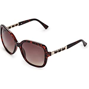 Amazon.com: GUESS Unisex GF6057 Shiny Rose Gold/Brown To ...