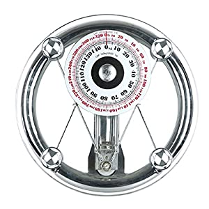 SONVADIA, Mechanical, Round Glass, Bathroom Scale.