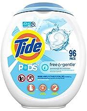 Tide PODS Free & Gentle Liquid Detergent Pacs