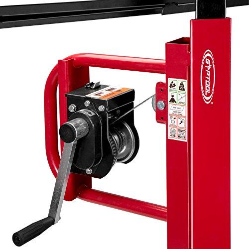 GypTool Drywall Lift Panel Jack Hoist - 11' Reach Red by GypTool (Image #3)