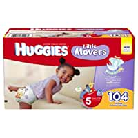 Huggies Little Movers Step 5 Giant Pack, 104 Count