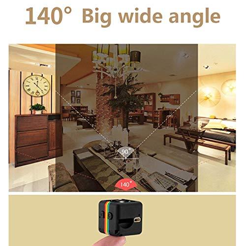 Fercisi Car HD Mini Camera 360 Degree Video Recording Support TF 1pcs Hidden Cameras