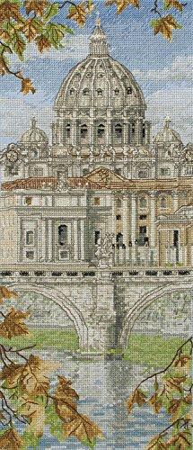 Anchor St Peter's Basilica Cross Stitch Kit