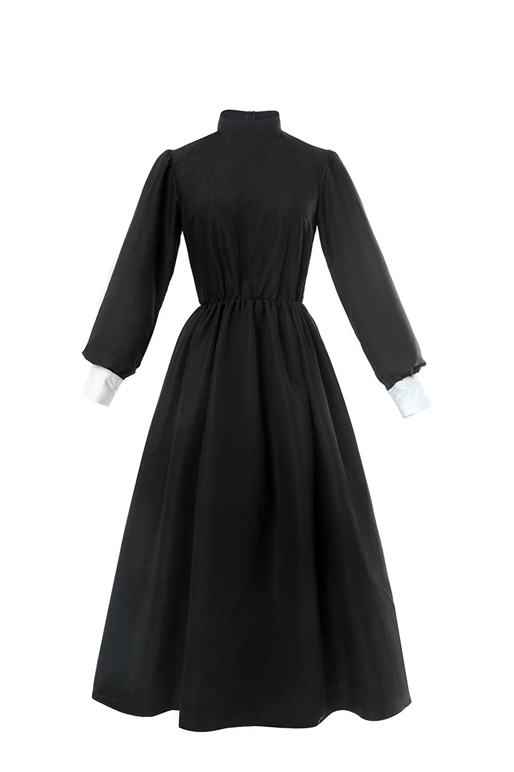 Victorian Clothing, Costumes & 1800s Fashion 1890 Pioneer Women Costume Floral Prairie Dress Deluxe Colonial Dress Laura Ingalls Costume ROLECOS  $35.99 AT vintagedancer.com