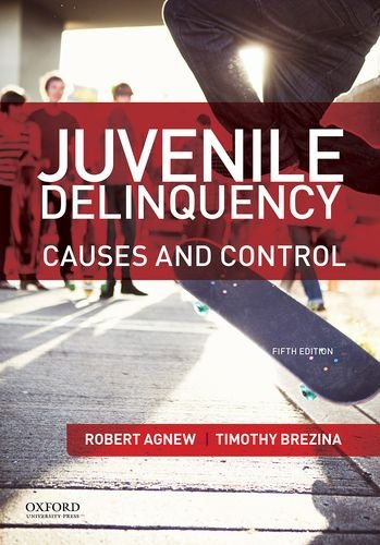 Juvenile Delinquency: Causes and Control