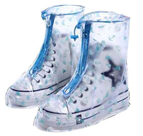 Housse étanche Chaussures Pluie couverture chaussures Multicolore02 Noir Wear antidérapante nPcXqPpT