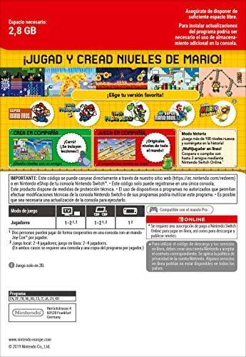 Super Mario Maker 2 | Switch Download Code: Amazon.es: Videojuegos