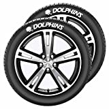 NFL Miami Dolphins Tire Tatz, One Size, One Color